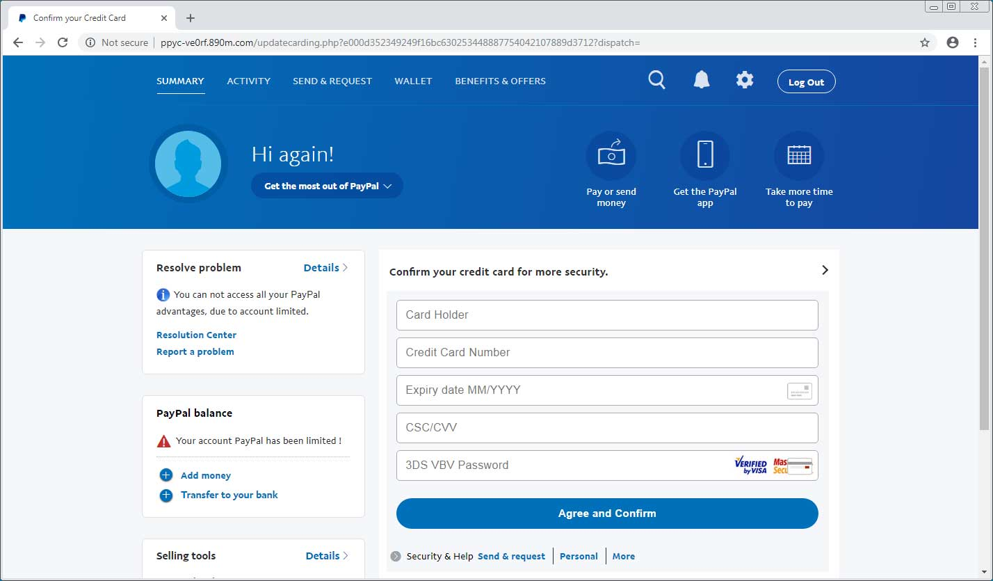 Latest Hack Steals Both Your Data And Your PayPal Account - Kennedy